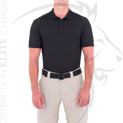 FIRST TACTICAL MEN PERFORMANCE POLO SHORT - BLACK - SM