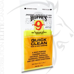 HOPPES QUICK CLEAN RUSH & LEAD REMOVER CLOTH