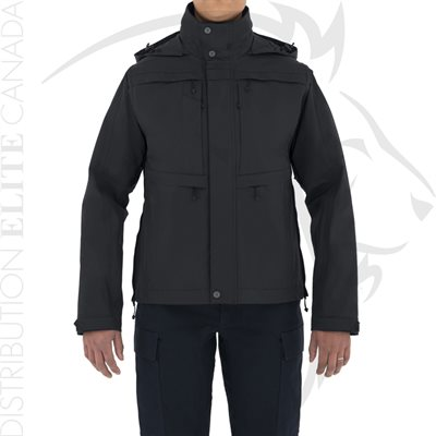 FIRST TACTICAL WOMEN TACTIX SYSTEM JACKET - BLACK - X-SMALL