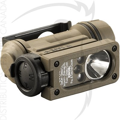STREAMLIGHT SIDEWINDER COMP II MIL WHT / RD / BLU / IR LEDS - BOX