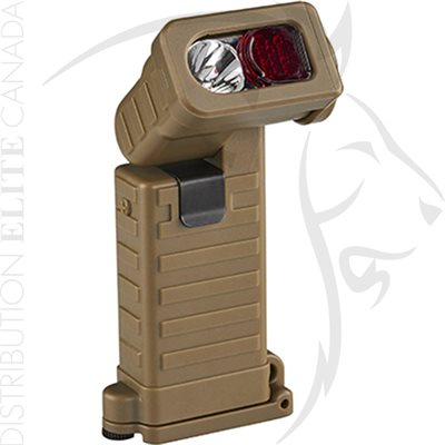 STREAMLIGHT SIDEWINDER BOOT WHITE LED - COYOTE