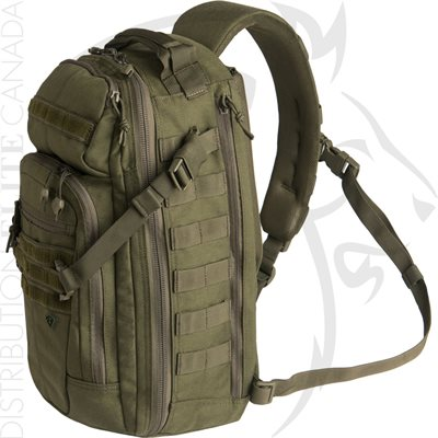 FIRST TACTICAL CROSSHATCH SLING PACK - OLIVE