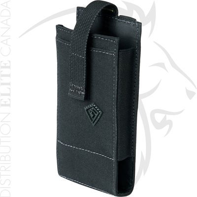FIRST TACTICAL MEDIA POUCH LARGE - BLACK