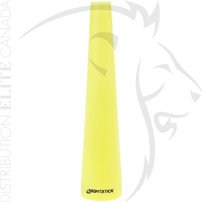 NIGHTSTICK SAFETY CONE - TAC-300 / 400 / 500 SERIES - YELLOW