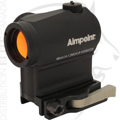 AIMPOINT MICRO H-1 SIGHT - 2 MOA LRP MOUNT