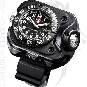 SUREFIRE CMPCT WRIST LUMINOX WATCH LI-ION 15 / 60 / 300 LU - BLK