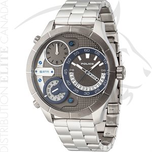 FIORI POLICE WATCH - BUSHMASTER STAINLESS STEEL W / BLUE DIAL