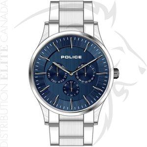 FIORI MONTRE POLICE - COURTESY ACIER A / CADRAN BLEU