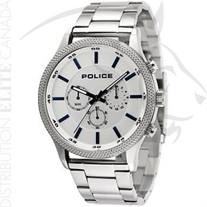 FIORI POLICE WATCH - PACE STAINLESS STEEL W / GRAY DIAL