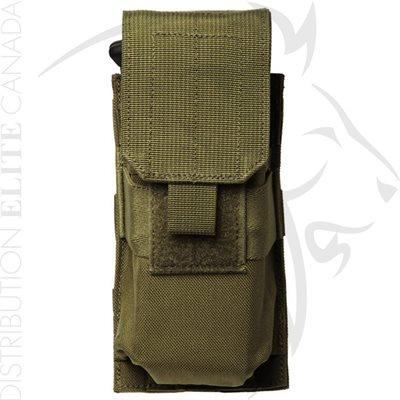 BLACKHAWK STRIKE M4 / M16 SINGLE MAG POUCH HOLDS 2 - OD