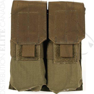 BLACKHAWK STRIKE M4 / M16 DOUBLE MAG POUCH HOLDS 4 - OD
