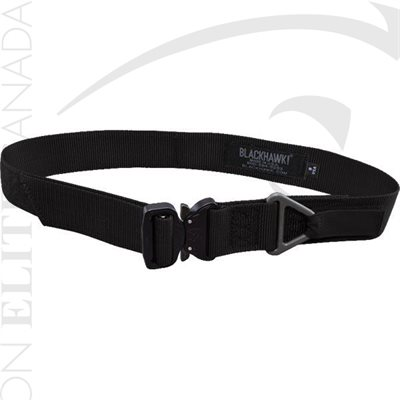 BLACKHAWK RIGGER'S BELT W / COBRA BUCKLE SMALL (UP TO 34in) BLACK