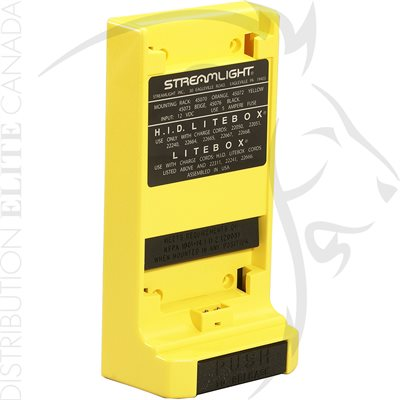 STREAMLIGHT STANDARD SYSTEM MOUNTING RACK - YELLOW