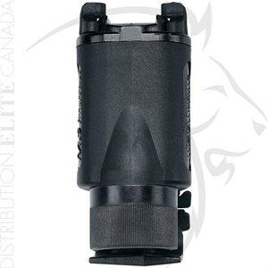 UNCLE MIKE'S TAC LIGHT HOLDER KDX BLK CLIP ON - M3 / M6 / GLOCK