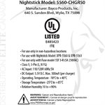 NIGHTSTICK 50-BANK CHARGING STATION - 5560 / 5561 SERIES LAMPS