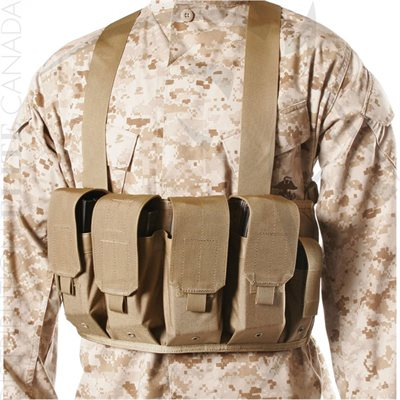 BLACKHAWK CHEST POUCHES AK47 - 4 RIFLE MAGS / 2 PISTOL MAGS CT