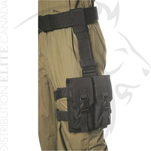 BLACKHAWK OMEGA ELITE M16 MAG POUCH (2) NOIR