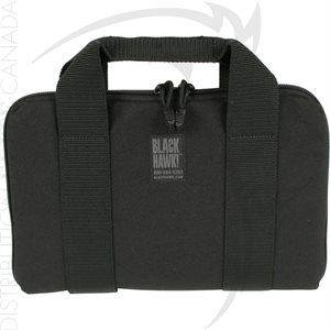 BLACKHAWK GUN RUG / PISTOL POUCH (12X8) NOIR