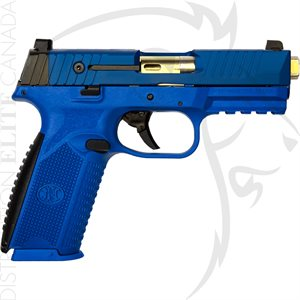 FN 509 SIMUNITION PISTOL - BLU / BLU - DAY SIGHT - (2) 17-RND
