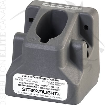 STREAMLIGHT CHARGEUR HOLDER - DUALIE RECHARGEABLE