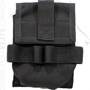 UNCLE MIKE'S DBL CUFF POUCH MOLLE COMP.