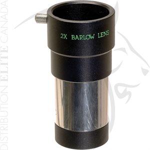 BUSHNELL 2X BARLOW LENS 1.25in DIAMETER