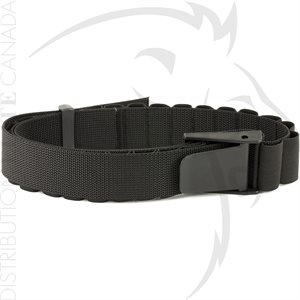 UNCLE MIKE'S CARTIDGE BELT BLK SHOTGUN 2in WIDE - UP TO 50in
