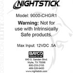 NIGHTSTICK SNAP-IN RAPID CHARGER - NSR-9000 SERIES