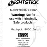 NIGHTSTICK DROP-IN RAPID CHARGER - NSR-9000 SERIES