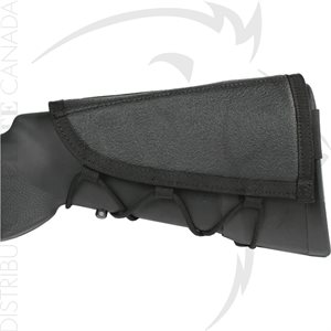 BLACKHAWK AMMO CHEEK PAD RIFLE (5) NOIR