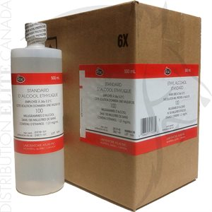 ATLAS ETHYL ALCOHOL STANDARD SOLUTION 100 MG% (BOX OF 6)