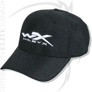 WILEY X CAP - BLACK SMALL / MEDIUM - DRI MESH