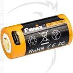FENIX ARB-L16 700mAh USB RECHARGEABLE LI-ION 16340 BATTERY