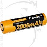FENIX ARB-L18 2900mAh COLD RESISTANT RECHARGE 18650 BATTERY