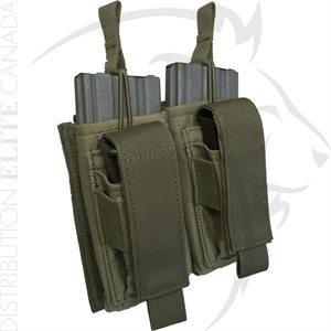 ARMOR EXPRESS BASE M16 OR M4 & PISTOL DOUBLE KANGAROO MAG POUCH