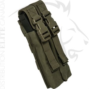 ARMOR EXPRESS BASE MP5 DOUBLE COVERED MAG POUCH