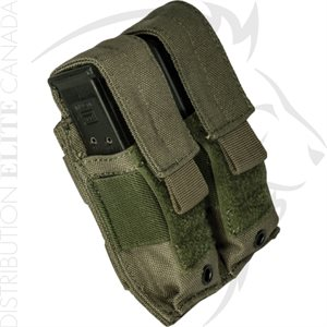 ARMOR EXPRESS BASE PISTOL DOUBLE COVERED MAG POUCH
