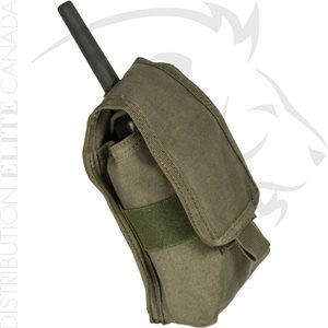 ARMOR EXPRESS BASE RADIO ADJUSTABLE COVERED POUCH