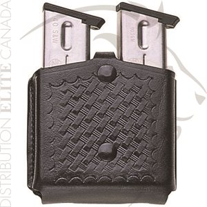 BIANCHI 29 PATROLTEK LEATHER TRIPLE THREAT MAGAZINE POUCH