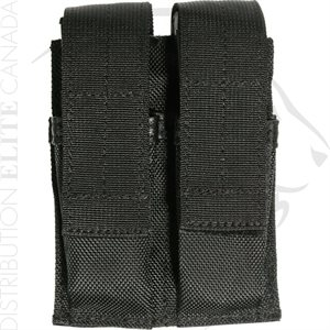 BLACKHAWK BELT MOUNTED DOUBLE MAG POUCH