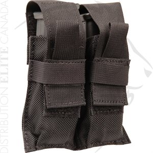 BLACKHAWK BELT MOUNTED DOUBLE MAG POUCH TALON FLEX
