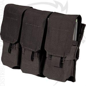 BLACKHAWK M4 & M16 TRIPLE MAG POUCH (HOLDS 6) - MOLLE