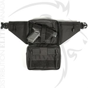 BLACKHAWK NYLON CONCEALED WEAPON FANNY PACK HOLSTER AMBIDEXTROUS