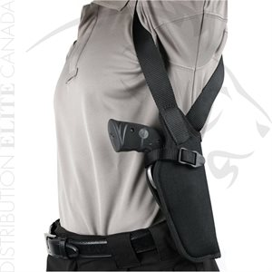 BLACKHAWK NYLON VERTICAL SHOULDER HOLSTER WITHOUT SCOPE