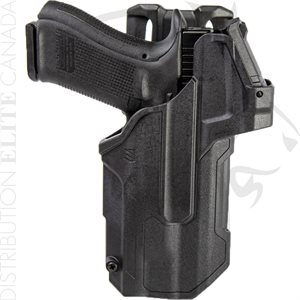 BLACKHAWK T-SERIES L2D LIGHT BEARING RED DOT SIGHT DUTY HOLSTER