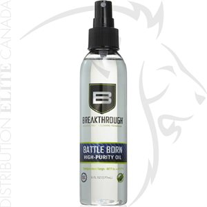 BREAKTHROUGH BATTLE BORN HIGH PURITY OIL - 6 OZ SPRAY BOTTLE