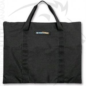ARMOR EXPRESS AE ZIPPERED CONCEALABLE CARRY BAG - BLACK