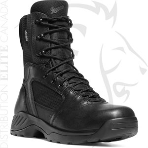 DANNER KINETIC SIDE-ZIP 8in BLACK GTX