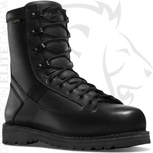 DANNER STALWART SIDE-ZIP 8in BLACK