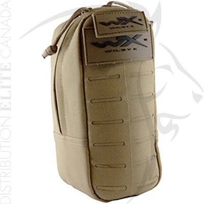 WILEY X TACTICAL POUCH - TAN